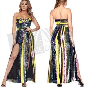 MODA ME COUTURE Pants - Get Carrie Underwood's Look! Sequin Jumpsuit!